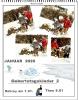 Kalenderblatt Januar