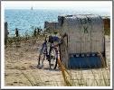 Lieber mit dem Fitz / Fahrrad zum Strand,