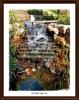 Wasserlauf im Gartenpark