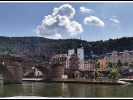 ie alte Brücke in Heidelberg.