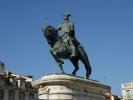 bronzene Reiterstatue von König Joao I,