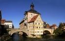 Altes Rathaus in Bamberg in der Nachtmittagssonne