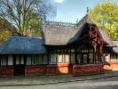 altes Straßenbahn Haus