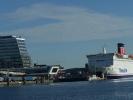 Kieler Hafen mit Fährschiffen...