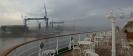 Einlaufen in den Kieler Hafen...