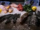 Fischtheke in der Markthalle