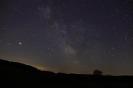 Die Milchstraße heute Morgen auf der Alb gegen 4 Uhr