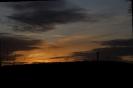 Am Ende gab es dann noch einen schönen Blick zum Turm zurück kurz vor Sonnenuntergang