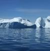 Eisberg-Abbruchkante