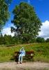 Parkbank im Wittmoor