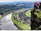 Sächs.Schweiz mit Elbe