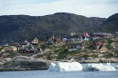 Ilulissat an der Discobucht, Grönland