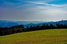 Landschaft im Hochnebel