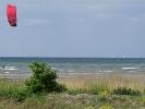Kitesurfen am Strand