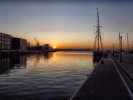 Sonnenuntergang Wismar