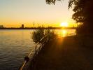 Sonnenuntergang Außenalster