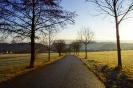 Weg in Schwarzenberg Erzgebirge