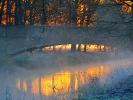 Wenn Nebel aus dem Wasser steigt