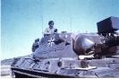 Ich auf einem Leo 2 Panzer