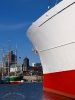 Die Cap San Diego in Hamburg