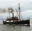 Tonnenleger Dampfer